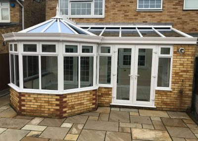 P shaped conservatory2